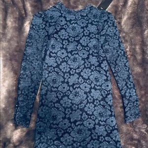 Stunning blue Zara lace dress!